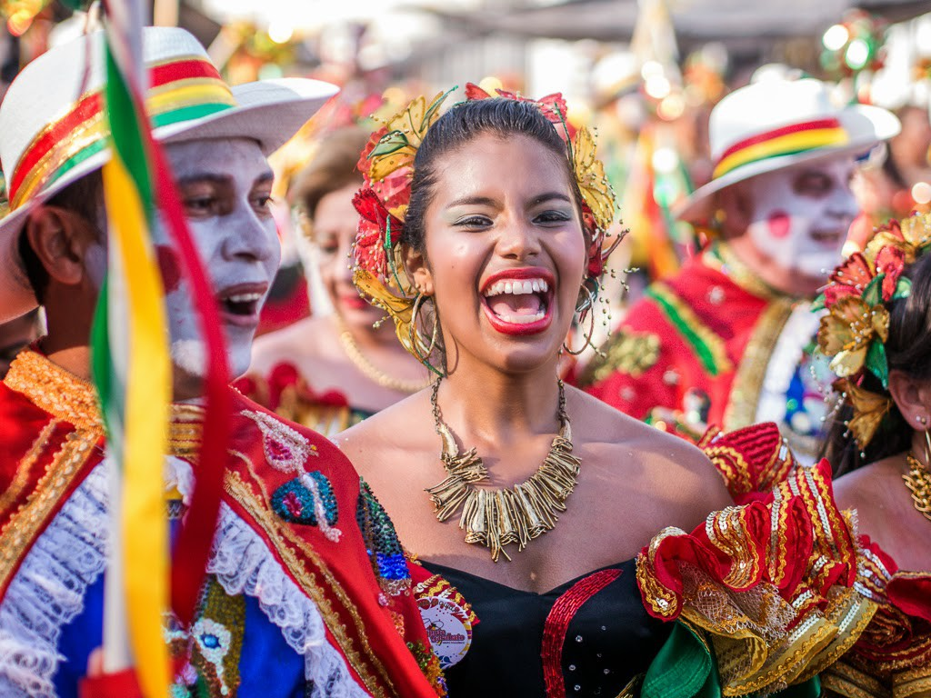 america south colombia barranquilla carnival treksnappy moment carnaval american fever sweeps through